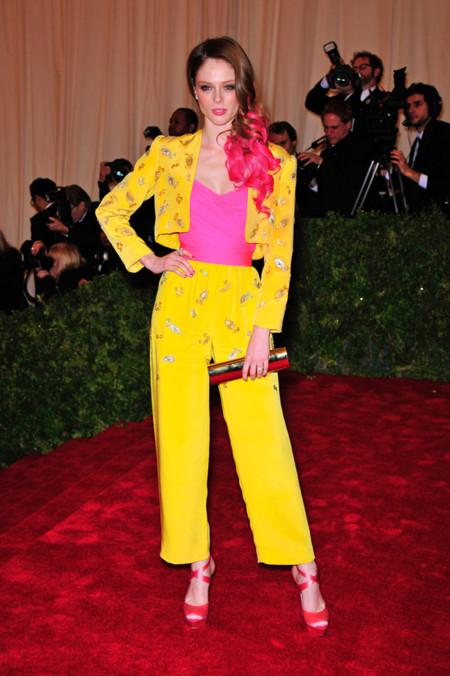 Peores looks peor vestidas Costume Insitute MET Gala Coco Rocha Givenchy vintage