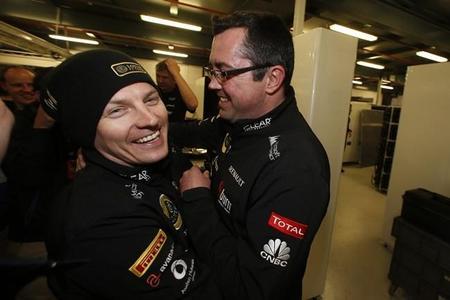"""Éric Boullier: """"voy a dar una camisa de Lotus a Adrian Newey"""""""