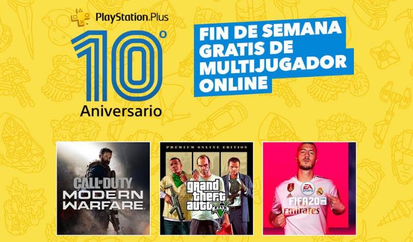 Este fin de semana podrás jugar gratis al multijugador online de los videojuegos de PS4
