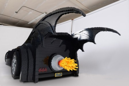 Lego Batmobile By Nathan Sawaya 3