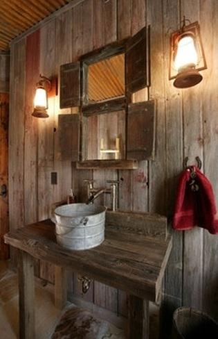 Muebles Bajo Lavabo Rusticos.Cinco Lavabos Diferentes