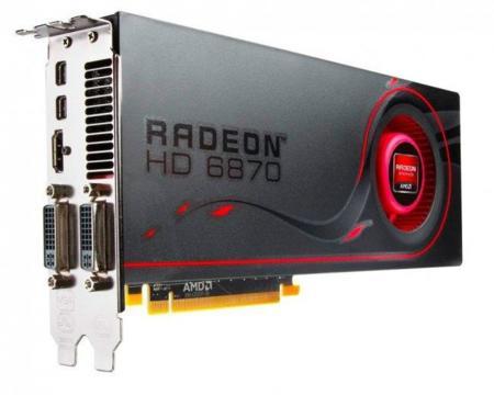 AMD 6870 y AMD 6850 brillan en sus imágenes oficiales