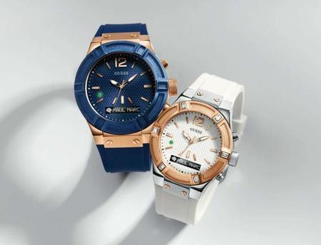 GUESS también se suma al diseño de relojes inteligentes con su modelo CONNECT