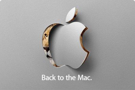 """¡El evento especial más esperado es oficial! 20 de Octubre, """"Back to Mac"""" y conoceremos Mac OS X 10.7"""