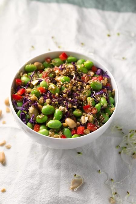 Ensalada De Quinoa Y Edamame 6