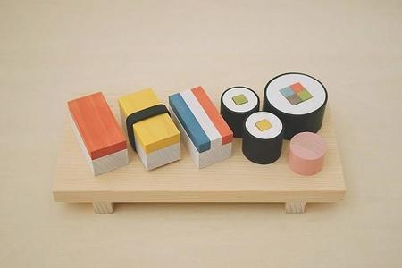 Juego de madera para iniciar a los más pequeños al sushi