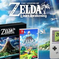 La brillante edición limitada de The Legend of Zelda: Link's Awakening en un unboxing que te hará desear hacerte con ella