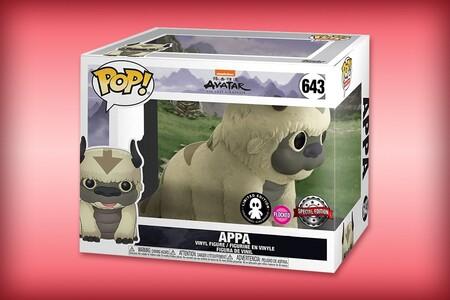 Funko POP de Appa, personaje de 'Avatar: la leyenda de Aang', con terciopelo y su precio más bajo histórico de Amazon México