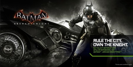 Nvidia Batman Bundle