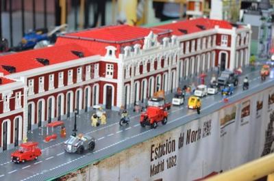 Un nuevo éxito de la exposición de TRENBrick para celebrar el 30 aniversario del Museo del Ferrocarril