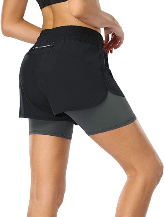 Move Beyond pantalones dobles cortos