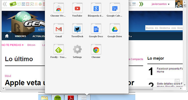 Chrome aplicaciones