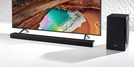 Esta barra de sonido con subwoofer y audio adaptativo de gama alta es un gran chollo en MediaMarkt: Samsung HW-Q60R por 329 euros