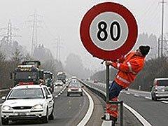 Por Barcelona sólo se podrá circular a 80 km/h de velocidad máxima