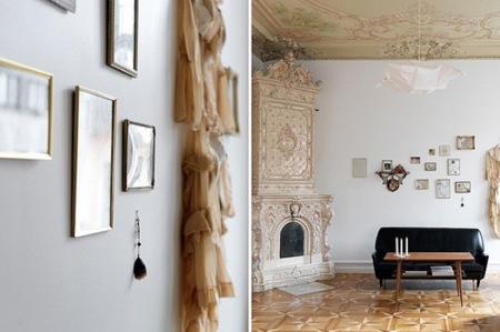 Puertas abiertas: un elegante apartamento en Estocolmo