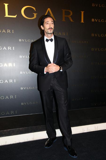 Adrien Brody esmoquin