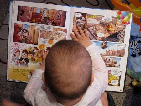 Dejar los libros al alcance de los niños