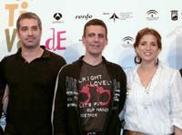 Rueda de prensa con el equipo de la película 'Proyecto Dos' en Málaga