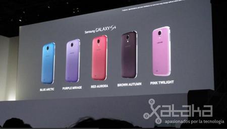 Galaxy S4 Colores