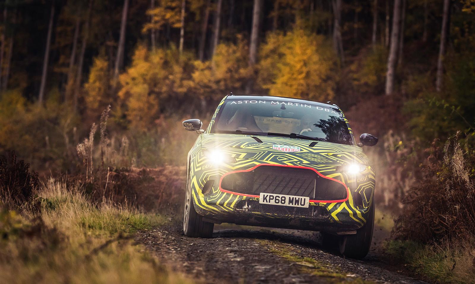 Foto de Aston Martin DBX, primeras imágenes (7/13)