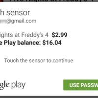 Desde ahora Google Play te permitirá pagar con la huella dactilar