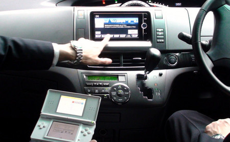 Kuruma de DS, Toyota integra la Nintendo DS en su GPS