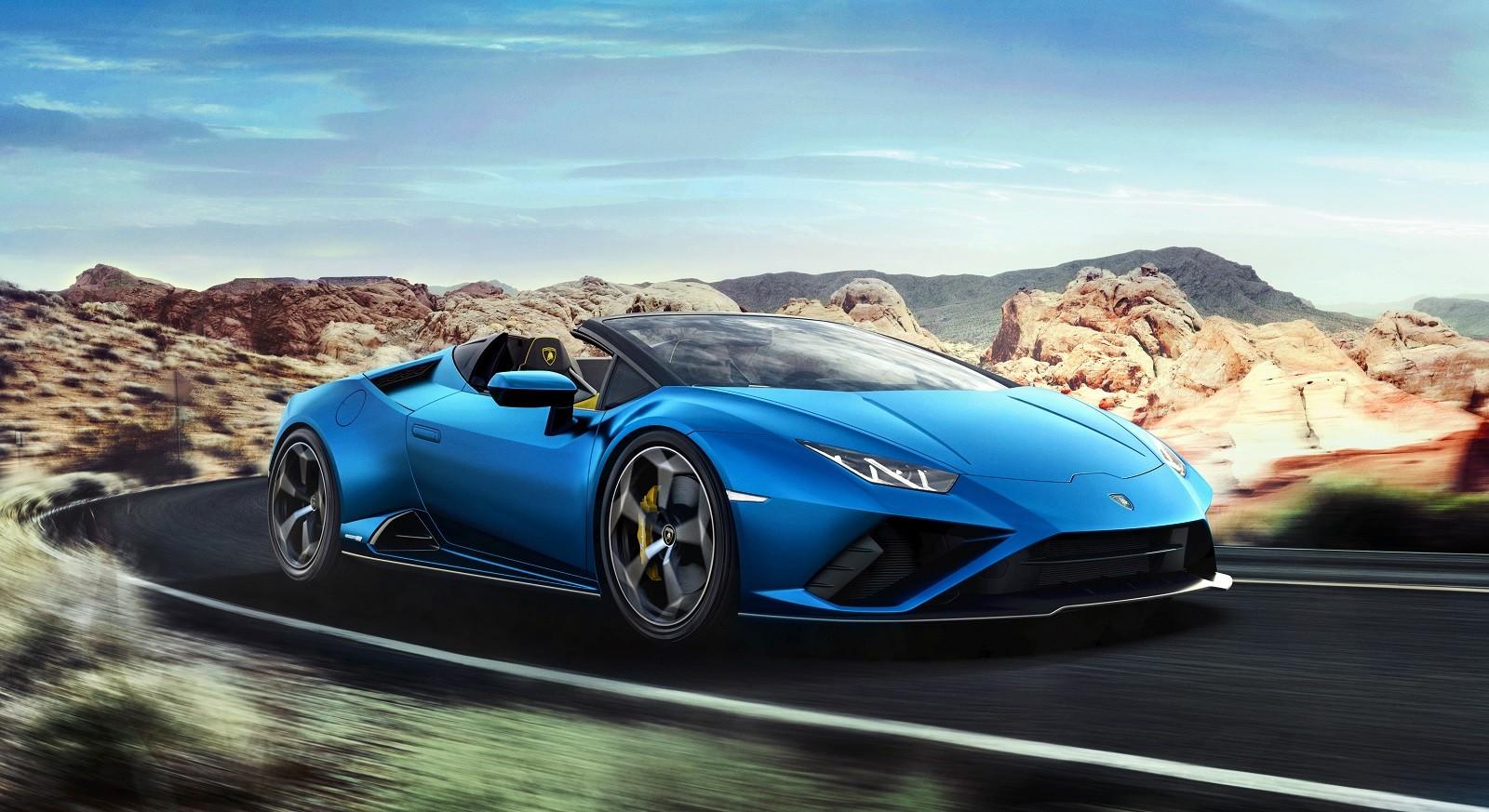 Foto de Lamborghini Huracan EVO Spyder RWD (8/14)