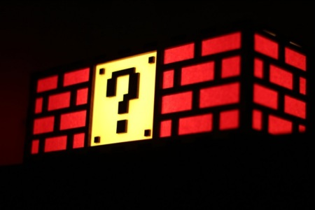 Question Block Lamp es la lámpara que quiero