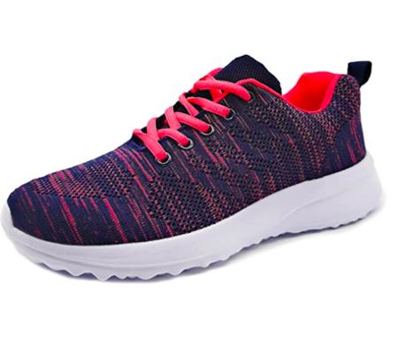 Zapatillas Deportivas Para Mujer Transpirables Ligeras De Malla
