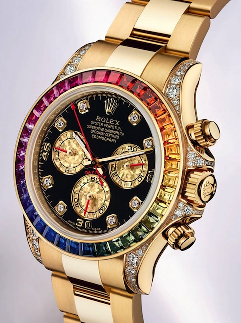 Reloj Rolex Hombre Azul