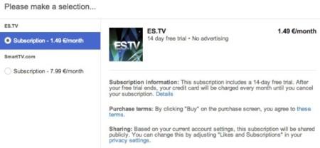 youtube suscripcion canal pago