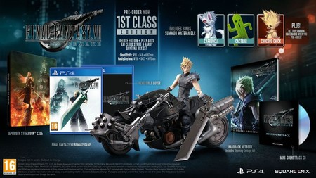 Final Fantasy VII Remake - 1st Class Edition