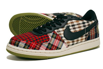 Zapatillas Nike Plaid para chicas