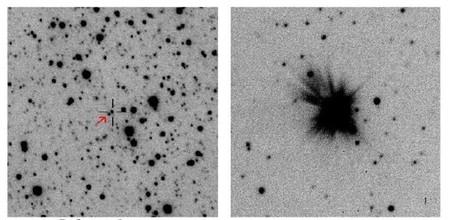 Se descubre la erupción de enana blanca más luminosa jamás vista