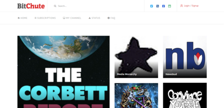BitChute, una alternativa a YouTube impulsada por BitTorrent