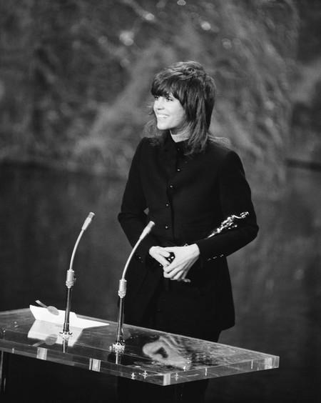 Jane Fonda En Los Oscar 1972