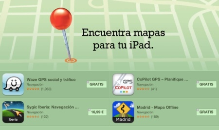 """Cuando te equivocas, te equivocas: Apple corrige su web y estrena nuevas secciones en la App Store para """"degradar"""" sus mapas"""
