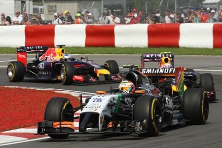 La FIA sanciona a Sergio Pérez por su incidente con Felipe Massa