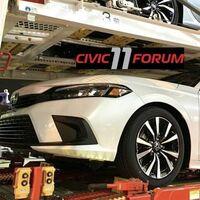¡Filtrado! Honda Civic 2022 se deja ver sin camuflaje y muy parecido a lo que podríamos ver en México