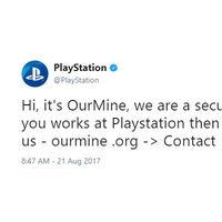 Hackean las redes sociales de PlayStation y aseguran tener la base de datos de la PSN