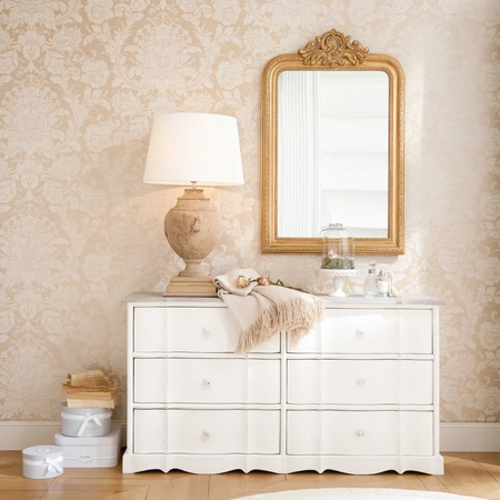 Espejo Con Molduras Doradas 77x120 Maison Du Monde