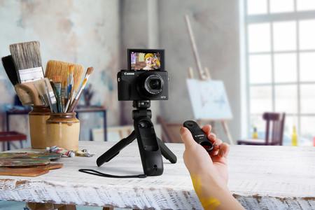 La empuñadura-trípode Canon HG-100TBR y el micrófono estéreo Canon DM-E100: dos nuevos accesorios de Canon para el mundo del vídeo