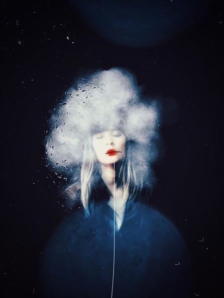 Tiny Blue Planet By Eliza Tsitsimeaua Badoiu
