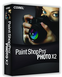 Paint Shop Pro Photo X2