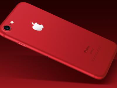 Nuevo iPhone 7 Red 128GB, en color rojo, con 30 euros de descuento