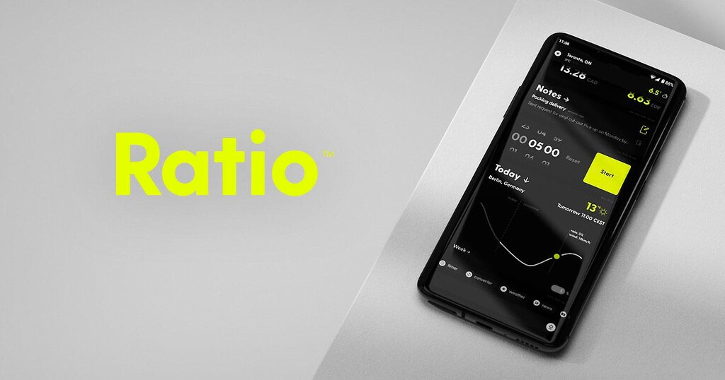 Ratio: minimalismo al extremo en un launcher súper personalizable
