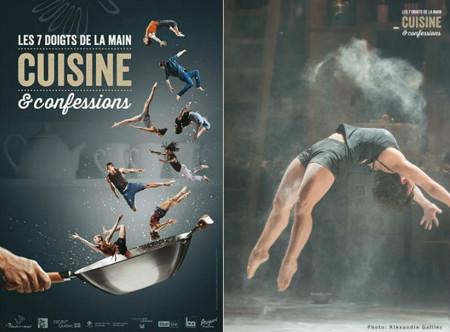 'Cuisine et Confessions' en Madrid: un espectáculo de danza, circo y teatro alrededor de la cocina