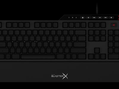 Teclado mecánico Vanguard K08, lo más nuevo de Creative para su gama de productos gaming
