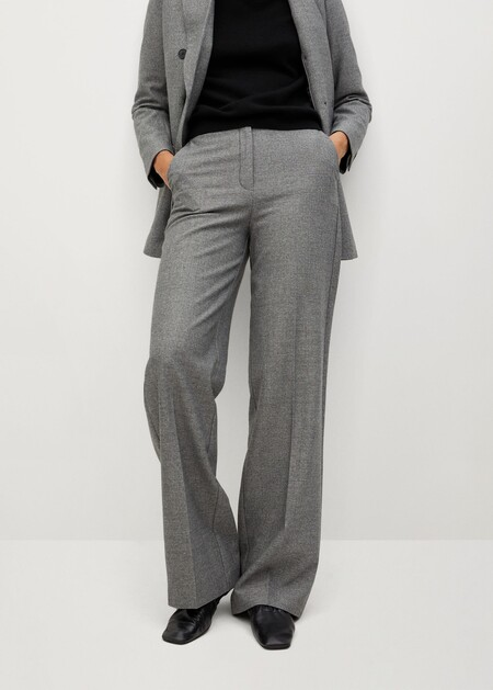 Pantalón traje pinzas