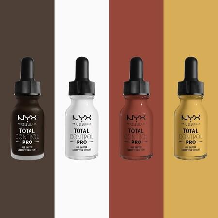 tintes para variar la base de maquillaje